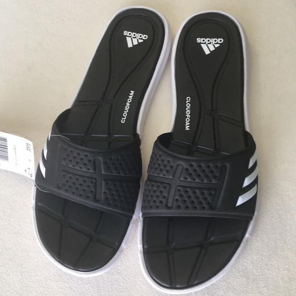 995b289af223 NWT Adidas Adipure slides size 8